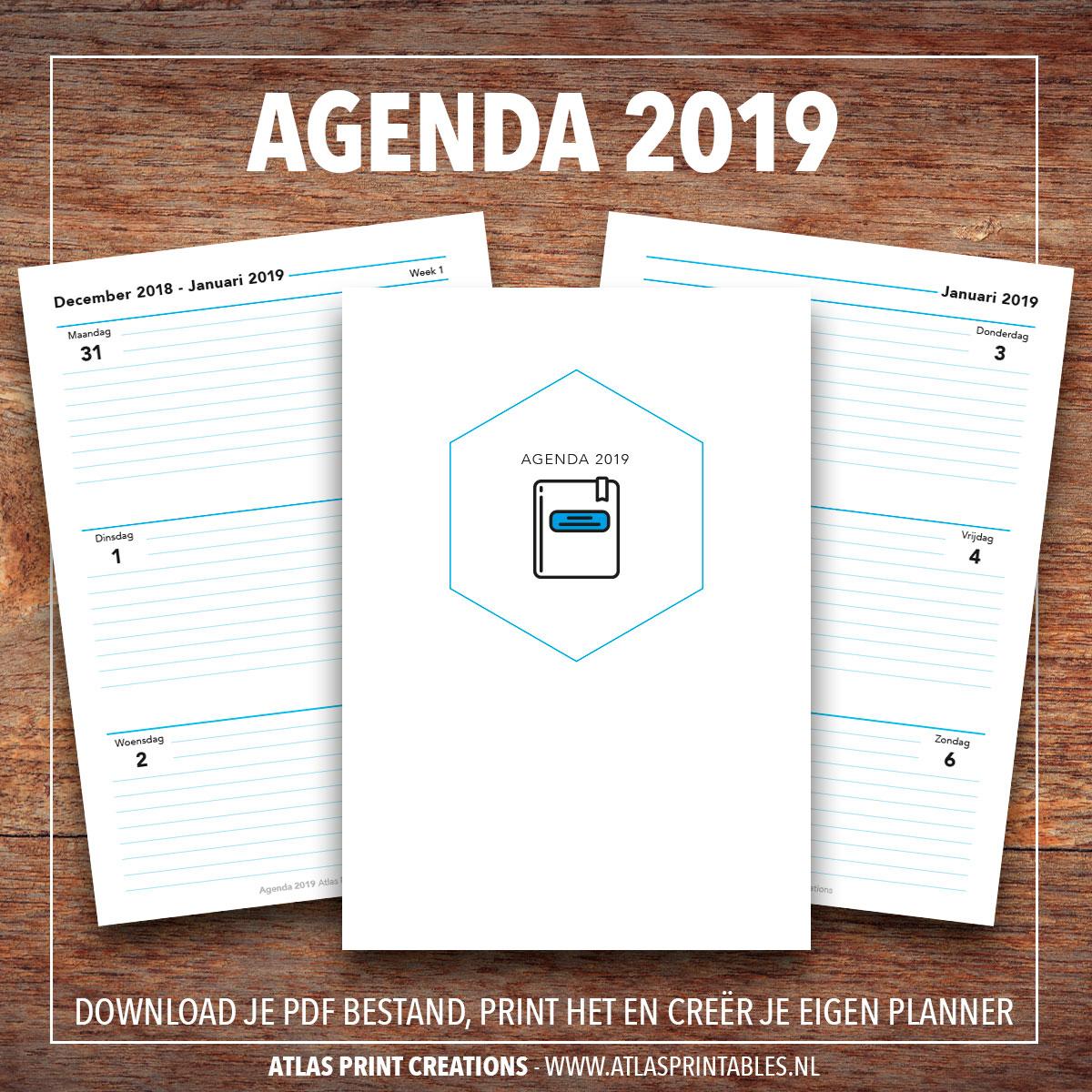 agenda 2019 - a5